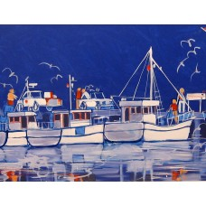Greeting Card - SUMMER BOATS
